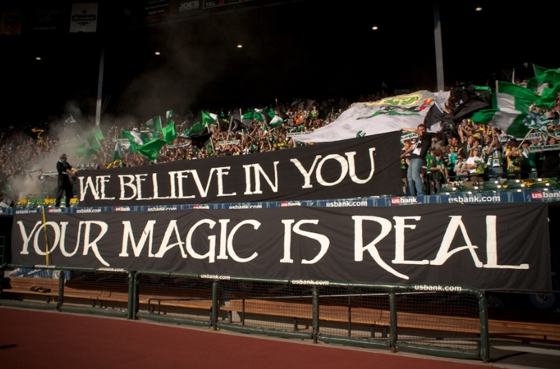 Your Magic is Real tifo